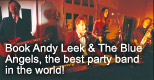 Book Andy Leek for your Wedding or party.